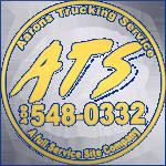 Aarons Trucking LogoGold