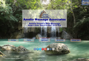 Video Landing page for Amelia Massage Associates