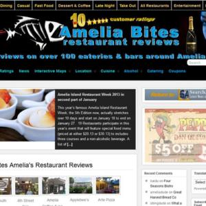 Amelia Bites New Website Launch