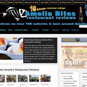 Amelia Bites New Website Launch