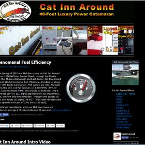 Redesigned site for Cat Inn Around